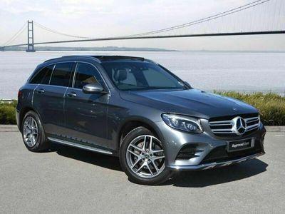 used Mercedes E250 GLC Class GLC GLC d 4Matic AMG Line Prem Plus 5dr 9G-Tronic SUV 2018