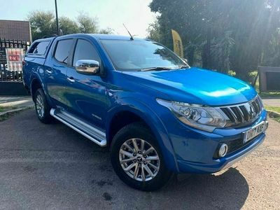 used Mitsubishi L200 DI-D 4WD WARRIOR DOUBLE CAB MANUAL EU6 + HARDTOP CANOPY