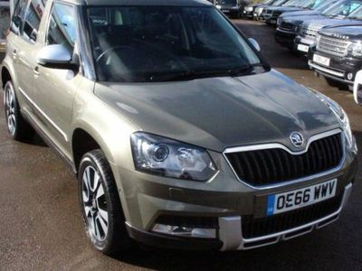used Skoda Yeti 2.0 OUTDOOR LAURIN AND KLEMENT TDI DSG SCR 5d 148 BHP SOUGHT AFTER MODEL