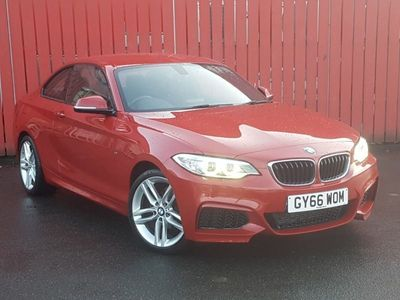 used BMW 218 2 Series I M Sport 2Dr Step Auto