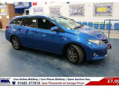 used Toyota Auris ICON + 1.8 VVT-I 100PS CVT AUTO HYBRID 5 DOOR ESTATE