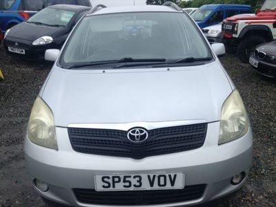 used Toyota Corolla Verso 1.8 VVT-i T3 5dr Will be getting a new Mot next week. Nice wee car.