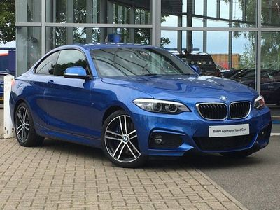 used BMW 218 d M Sport Coupe