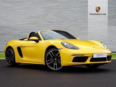 used Porsche Boxster 2.0 2dr PDK Convertible 2019