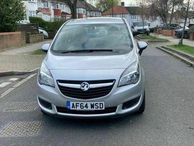 used Vauxhall Meriva 1.4 i 16v Exclusiv 5dr (a/c)