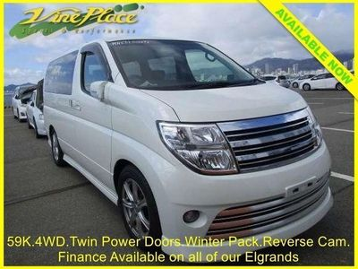 used Nissan Elgrand Highway Star 2.5 4WD 8 Seats, Twin Power Door ++FINANCE AT www.vineplace.co 5dr
