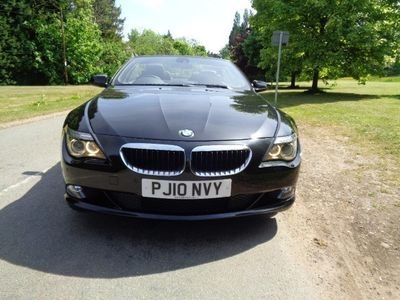 used BMW 635 Cabriolet 3.0TD 635d Sport Convertible 2d 2993cc auto