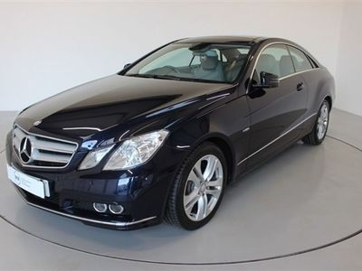 used Mercedes E350 E Class 3.0CDI BLUEEFFICIENCY SE EDITION 125 2d-2 FORMER KEEPERS-HEATED LEATHER-PANORAMIC Coupe 2011