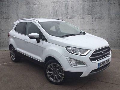 used Ford Ecosport TITANIUM Hatchback 2019