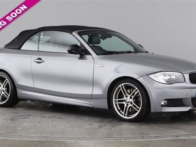 used BMW 123 Cabriolet