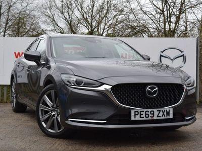 used Mazda 6 2.2d Sport Nav+ 4dr Saloon Saloon 2019