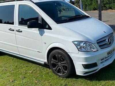used Mercedes Vito 3.0 122CDI Dualiner Sport Compact Panel Van 5dr (EU5)