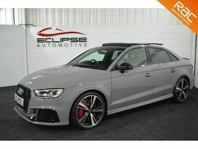 used Audi RS3 RS3 SALOON 2.5QUATTRO 4d AUTO 395 BHP Dynamic Pack Comfort Pack Tech Pack