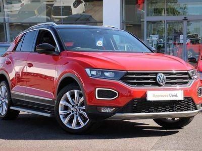 used VW T-Roc 2017 1.5 TSI SEL 150PS EVO 5dr
