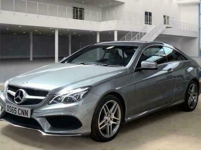 used Mercedes E350 E-CLASS 3.0BLUETEC AMG LINE 2d AUTO 255 BHP - SAT NA diesel coupe