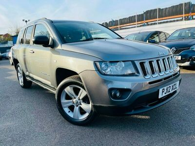 used Jeep Compass 2.2 CRD Sport + 5dr [2WD]