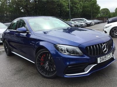 used Mercedes C63S AMG C CLASS AMG SALOON4dr 9G-Tronic