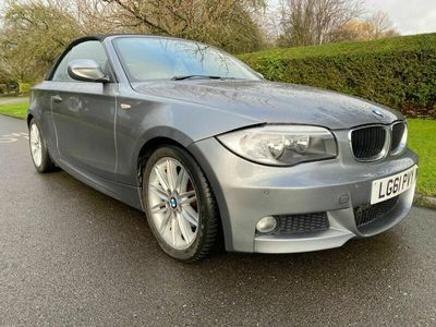 used BMW 120 Cabriolet 2.0 120d M Sport Auto 2dr