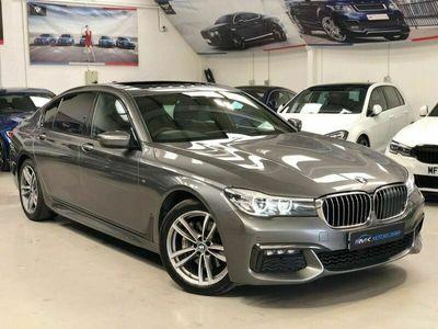 used BMW 740L 7 Series 3.0 d M Sport Auto xDrive (s/s) 4dr