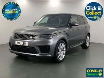 "used Land Rover Range Rover Sport 3.0 SDV6 HSE DYNAMIC 5d AUTO 306 BHP - VERY LOW MILES. 21"" ALLOYS"