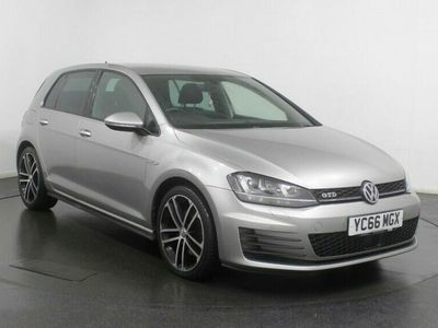 used VW Golf 2.0 GTD 5d 181 BHP SAT NAV Heated Seats Adaptive Cruise Control Parking Sensors 18 inch Alloys Full