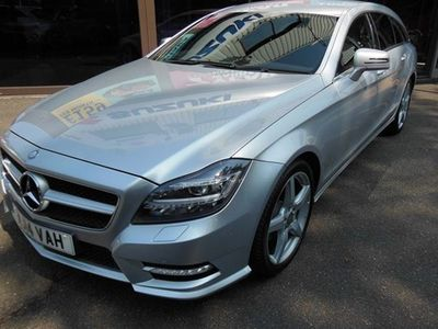 used Mercedes CLS250 CLS Shooting BrakeCDI BlueEFFICIENCY AMG Sport 5d Tip Auto