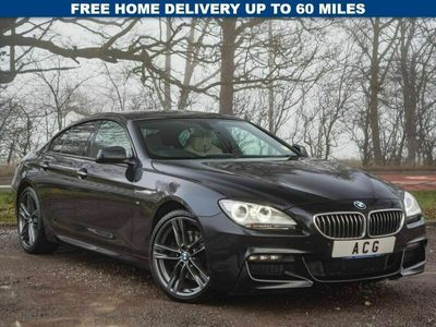 used BMW 640 6 SERIES 3.0 D M SPORT GRAN COUPE 4d AUTO 309 BHP