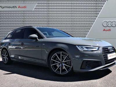 used Audi A4 35 TFSI Black Edition 5dr S Tronic Auto avant