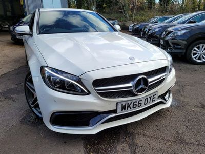 used Mercedes C63 AMG C Class 4.0V8 BiTurbo AMG S SpdS MCT (s/s) 4dr