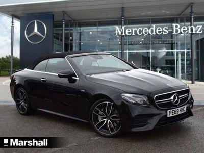 used Mercedes E53 AMG E Class4Matic+ Premium Plus 2dr 9G-Tronic Convertible 2019