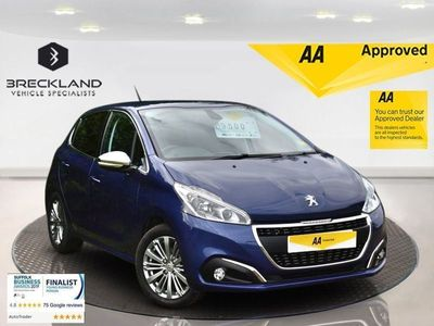 used Peugeot 208 1.2 PURETECH S/S ALLURE 5d 110 BHP ***128 AA POINT