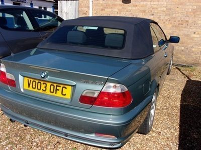 used BMW 318 3-Series Convertible Ci 2d (01)