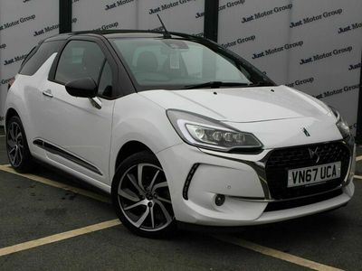 used DS Automobiles DS3 Cabriolet CABRIO 1.6 BlueHDi Prestige (s/s) 2dr