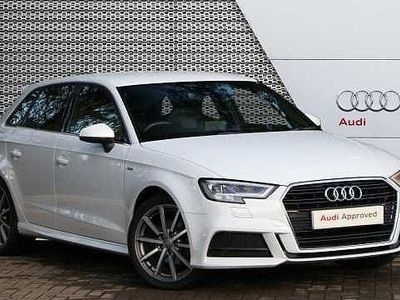 used Audi A3 Sportback S line 1.5 TFSI cylinder on demand 150 PS S tronic