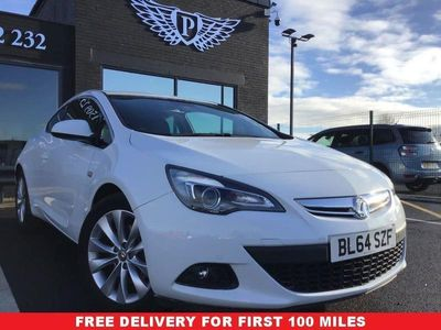used Vauxhall Astra GTC ASTRA 1.4SRI S/S 3d 138 BHP CLEAN EXAMPLE LOW MIL