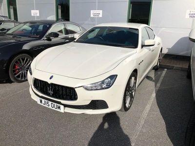 used Maserati Ghibli DV6 2015