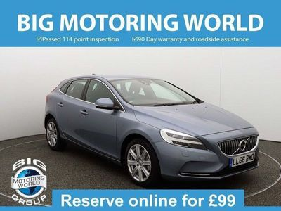 used Volvo V40 D2 INSCRIPTION Hatchback 2016