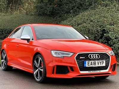 used Audi RS3 RS3Saloon 2.5 TFSI quattro 400 PS S tronic 4dr