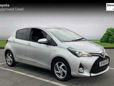 used Toyota Yaris 1.5 Hybrid Icon TSS 5dr CVT hatchback 2016