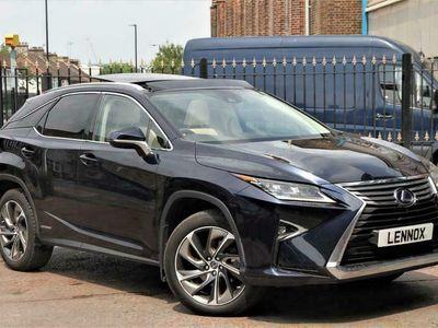 used Lexus RX450h 3.5h V6 Premier CVT 4WD (s/s) 5dr