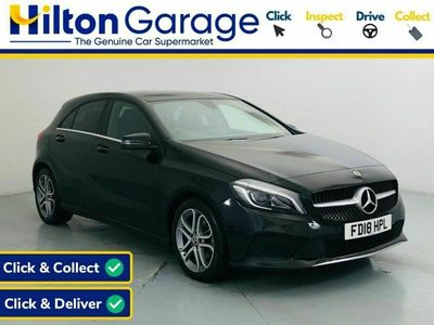 used Mercedes A180 A-Class 1.6SPORT EDITION PLUS 5d 121 BHP [PANORAMIC ROOF. SAT NAV]