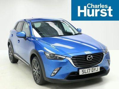 used Mazda CX-3 2017 Belfast 1.5D Sport Nav 5Dr Awd Auto