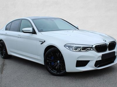 used BMW M5 2019 Harrogate 4dr DCT