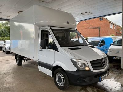 used Mercedes Sprinter 314CDI LUTON With a Tail Lift Low Miles