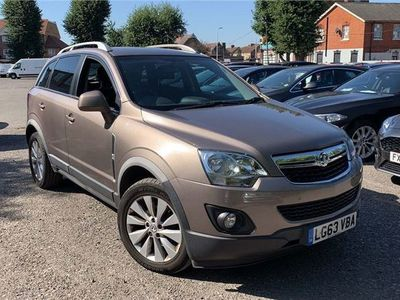 used Vauxhall Antara 2.2 CDTi Diamond AWD 5dr