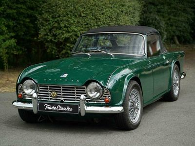 used Triumph TR4 For auction on Trade Classics.