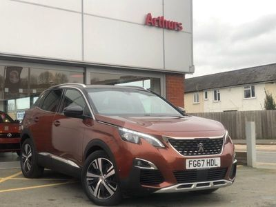 used Peugeot 3008 1.6 Thp Gt Line 5Dr Eat6