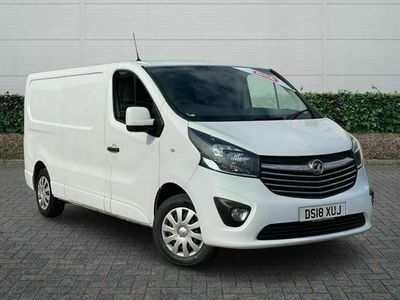 used Vauxhall Vivaro 2900 1.6CDTI 120PS Sportive H1 Van