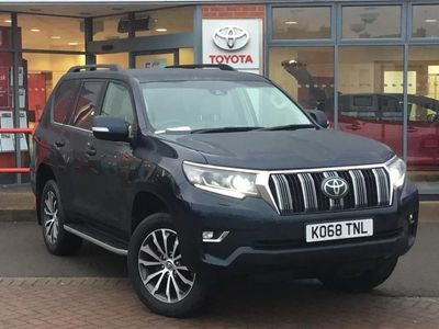 used Toyota Land Cruiser Diesel Sw 2.8 D-4D Invincible 5dr Auto 7 Seats