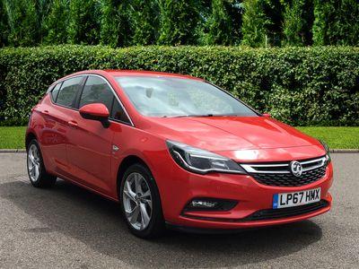 used Vauxhall Astra 1.6 CDTi 16V 136 SRi 5dr Hatchback Hatchback 2018